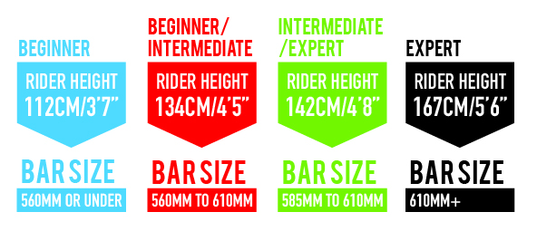 Scooter size chart